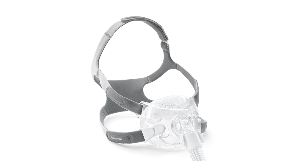 For CPAP patients looking for a full-face mask, the Philips Respironics Amara View model offers a lightweight and unobstructed solution.