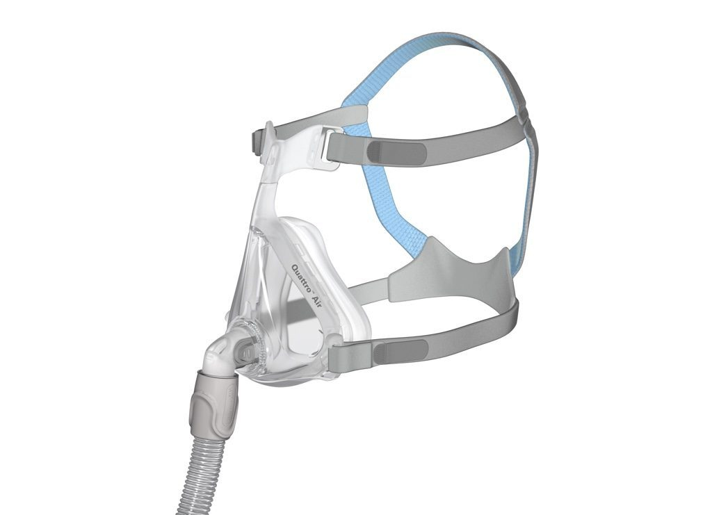 Full face CPAP masks are no longer the bulky, obtrusive models of years past. Here's why the ResMed Quattro Air full face CPAP mask is earning rave reviews.