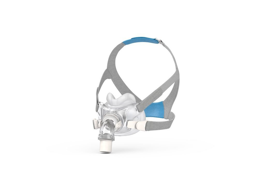 If you need a full face CPAP mask but need a less bulky model that lets you sleep on your side, check out the ResMed AirFit™ F30.